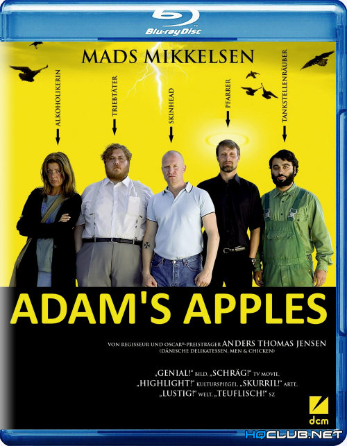 Адамовы яблоки / Adams æbler (2005/HDRip)