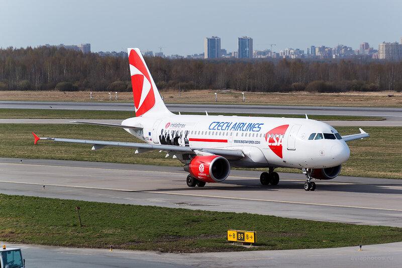 Airbus A319-112 (OK-OER) CSA - Czech Airlines D804342
