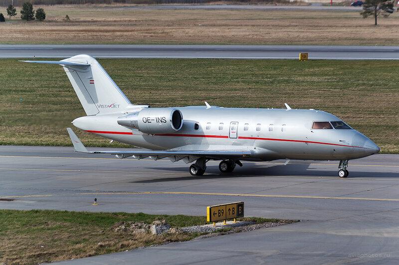 Bombardier CL-600-2B16 Challenger 605 (OE-INS) VistaJet D804306