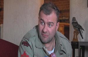 Актер Пореченков ответил на обвинения спецслужб Украины
