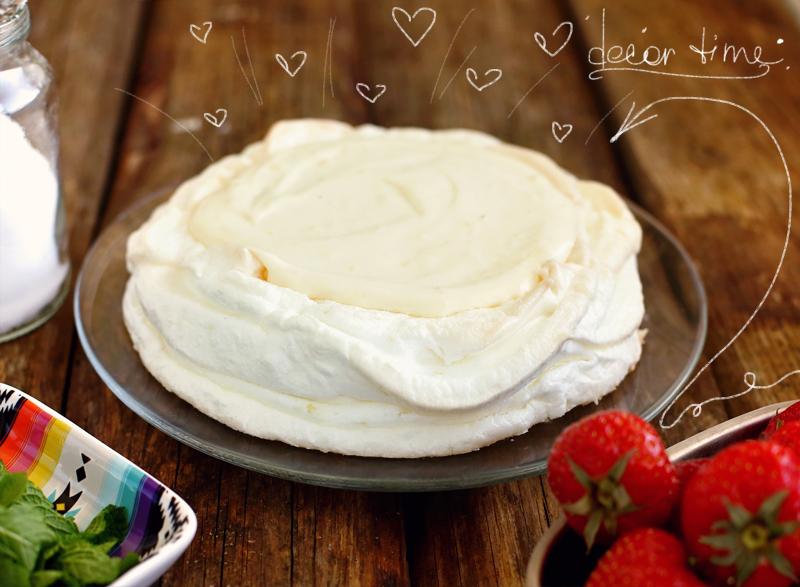 Торт Павлова - простой пошаговый рецепт с фото #13.