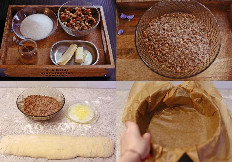 Ореховый пирог - пошаговый рецепт с фото #2.