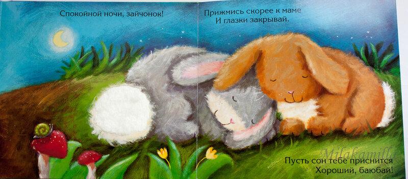 Картинки моя любимая зайка спокойной ночи