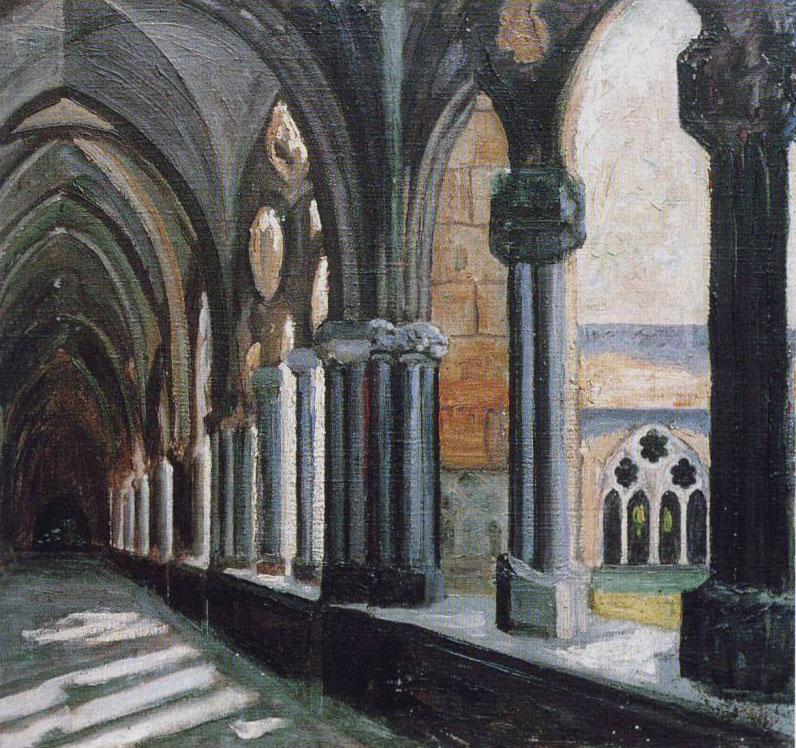 Shady Cloister В тени монастырских стен.jpg
