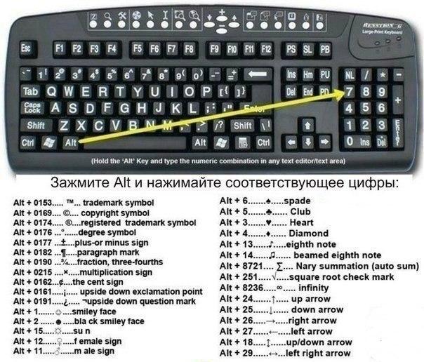 Как на клавиатуре сделать палку