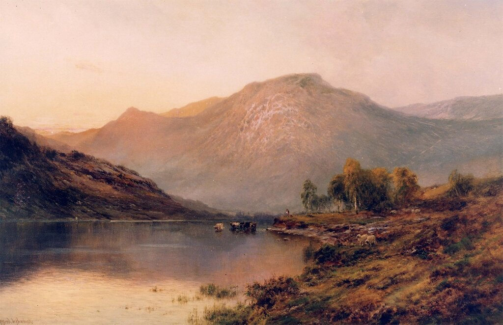 Alfred de Breanski Sr - The Perthshire Hills - 11976-2426.jpg