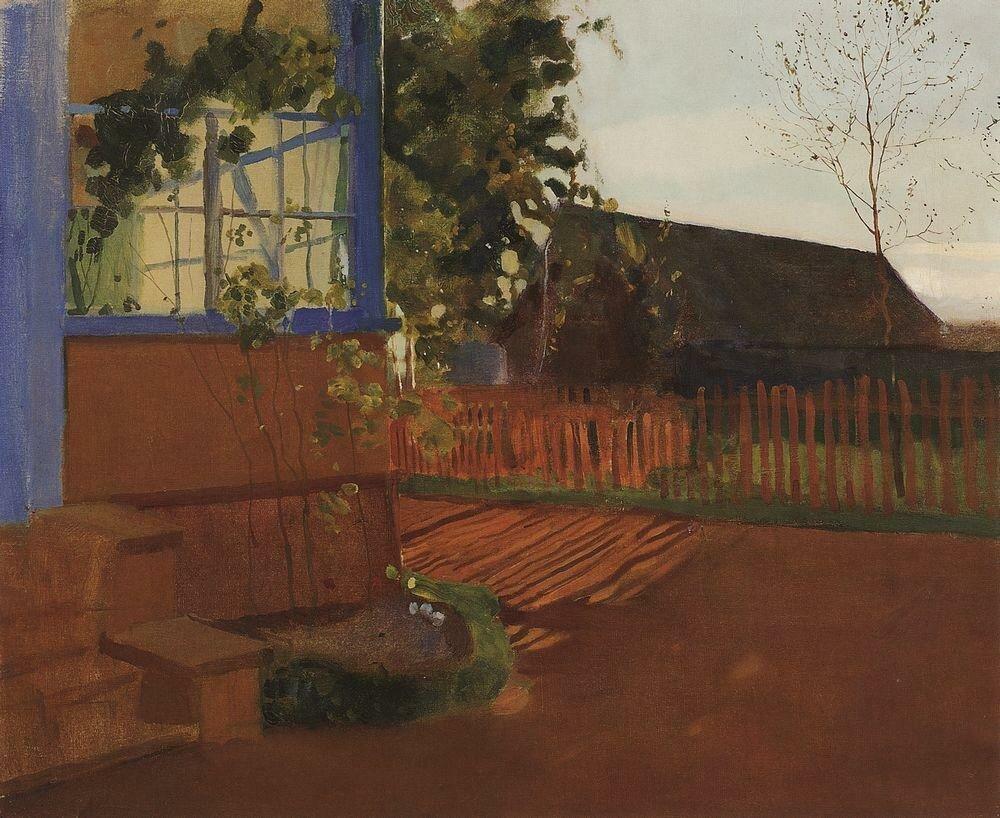 Вечерний пейзаж. 1902.jpg