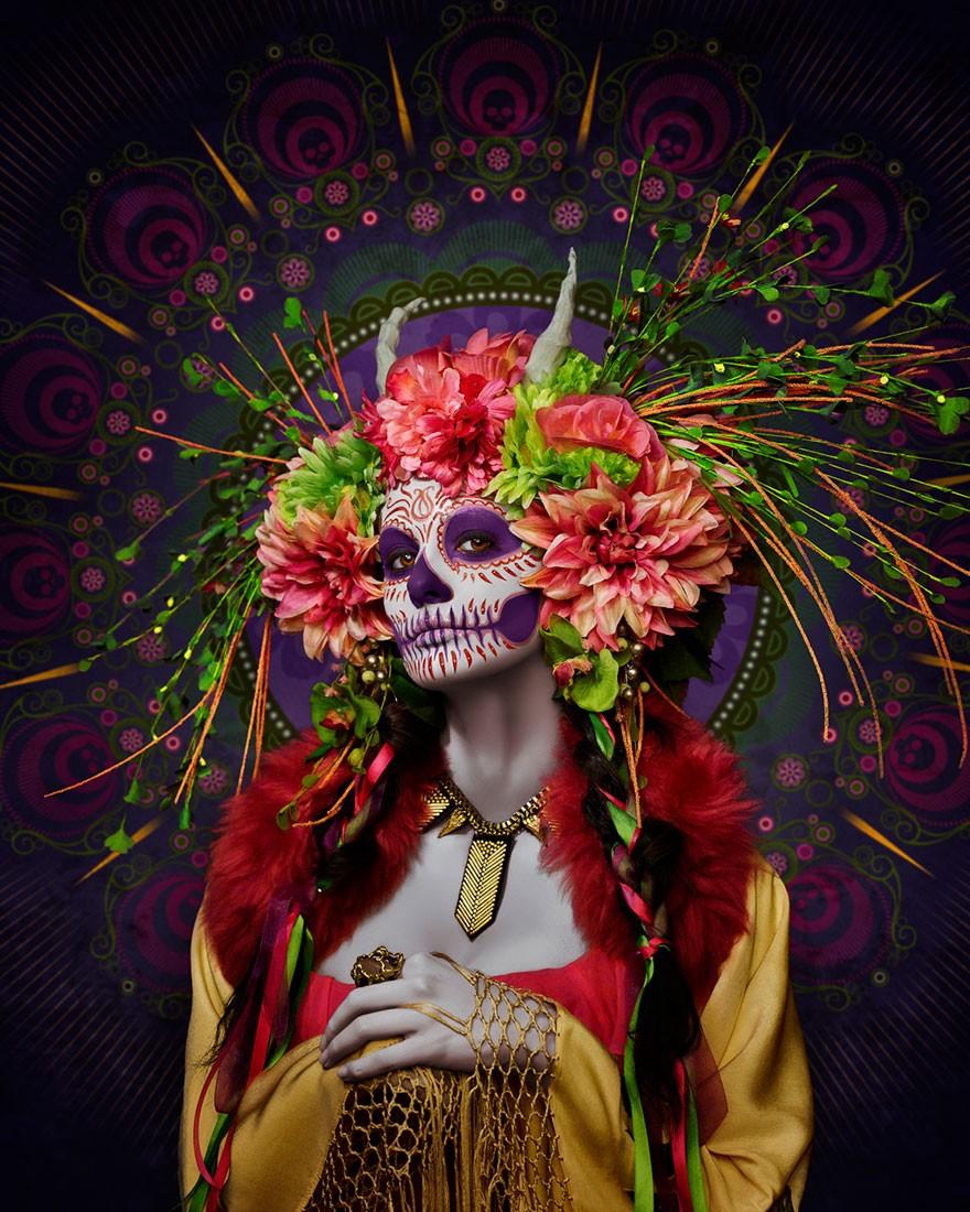 Смертельная красота богини преисподней в проекте Тима Теддеда (8 фото)