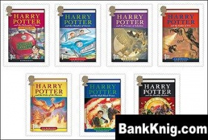 Книга Harry Potter 7 books english