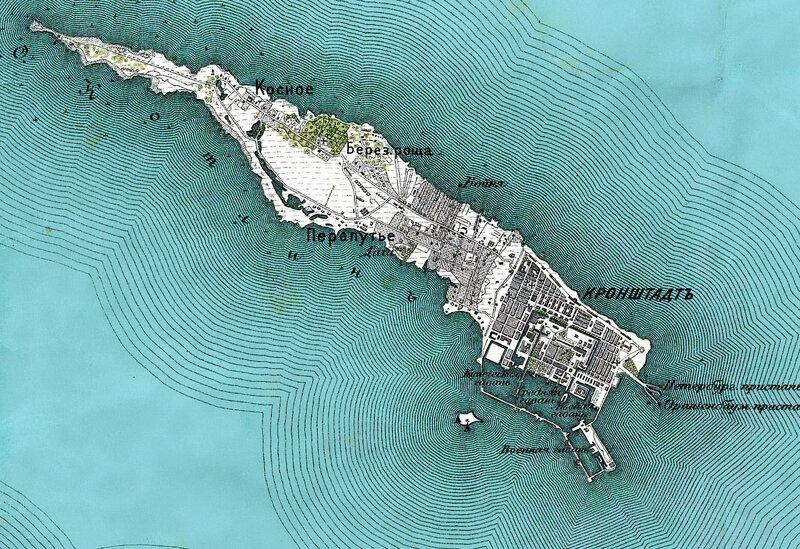Остров Котлин. 1913 год.