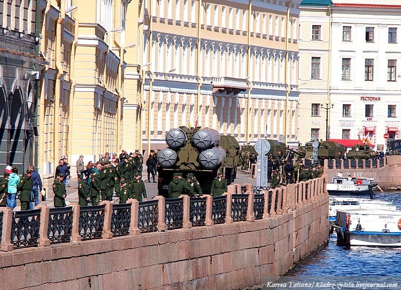 Парад на Дворцовой площади