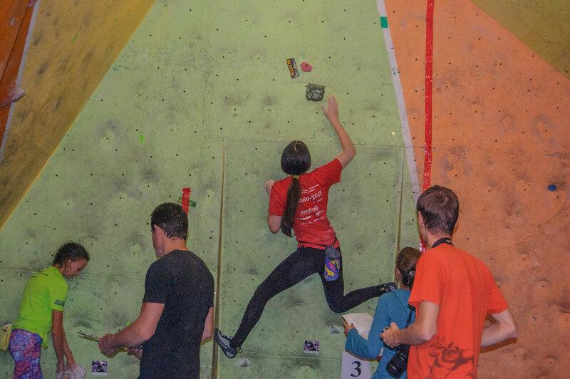 Соревнования, осень 2015
