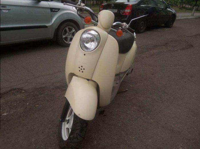 Причина продажи скутера