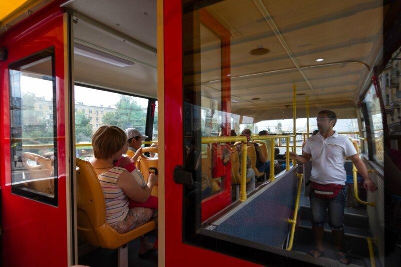 автобусная экскурсия по Казани
