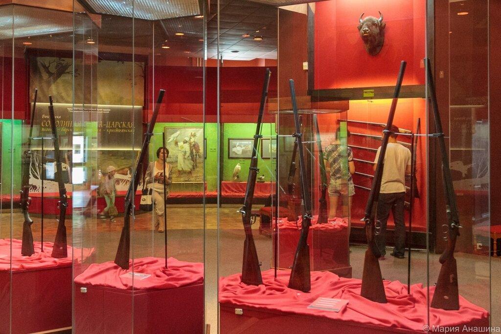 Экспозиция Тульского музея оружия, первый этаж