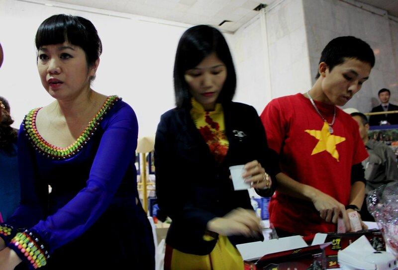 Промоутеры фестиваля азиатской культуры