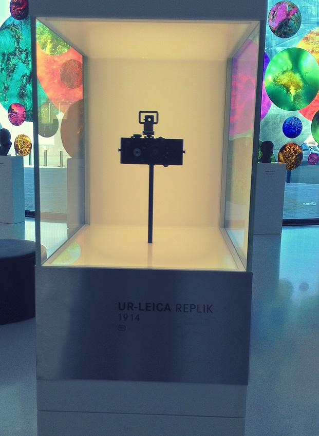 2. Первый в мире малоформатный фотоаппарат Ur-Leica
