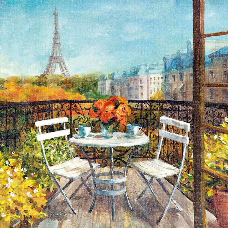 www.triinochka.ru Под небом Парижа. Китайский художник Danhui Nai