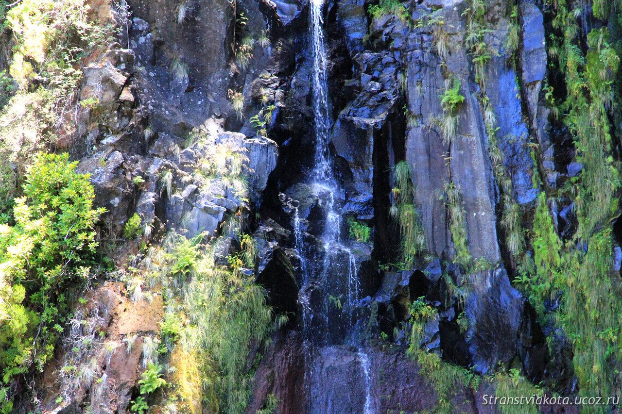 Мадейра, водопад Риско