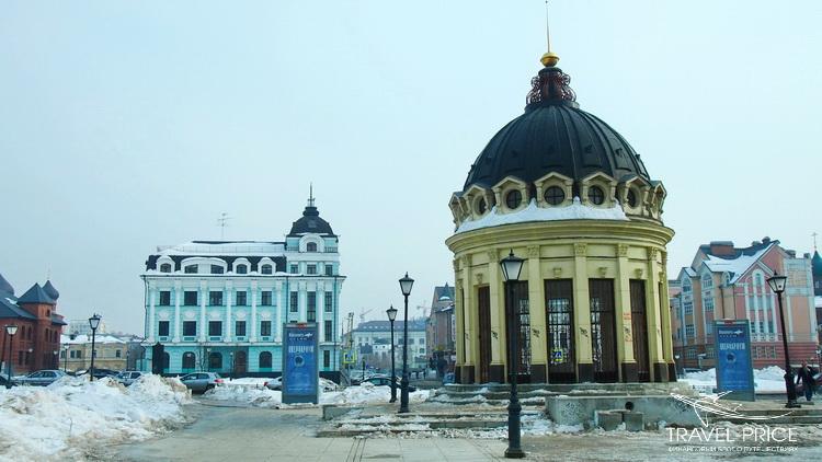 купол Казанского собора в Казани на улице Петеребургская
