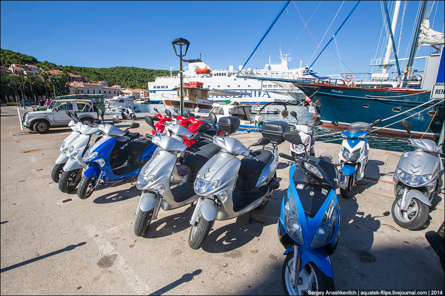 Прокат в Хорватии