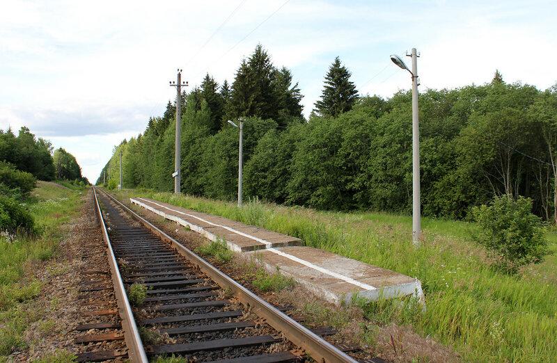 Платформа 168 км, перегон Сычёвка - Осуга