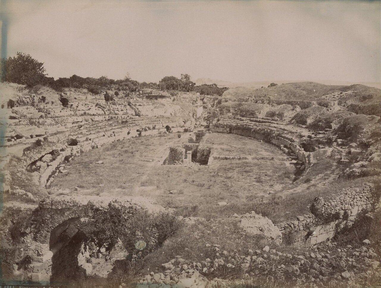 Сиракузы. Древнеримский театр
