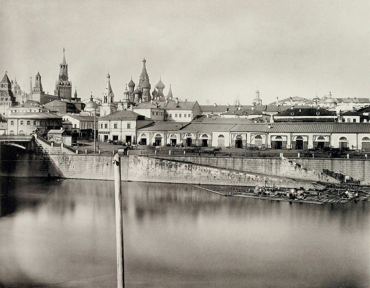 338. Китай-город. 1-й вид из за Москвы-реки