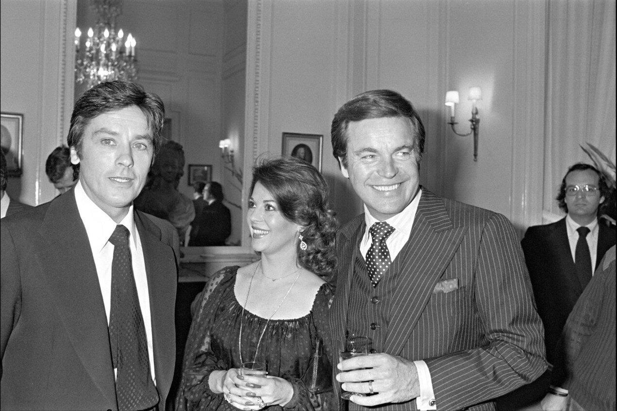 1978. С Натали и Робертом Вагнером