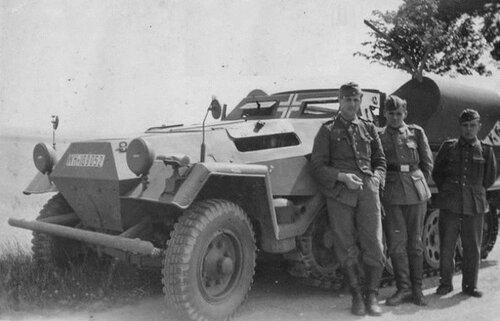 Немецкий БТР Sd.Kfz. 251/14.