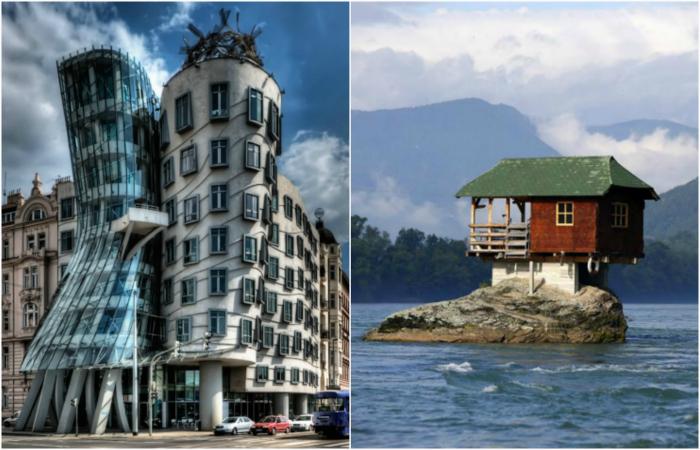 Необычные и экстравагантные жилые дома из разных уголков мира