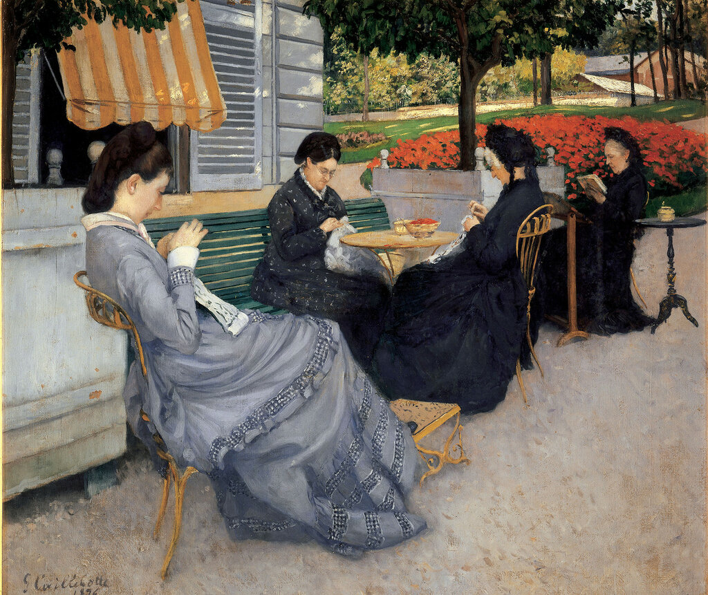 Portraits in the Countryside - 1875 - Musee Baron-Berard - Painting - oil on canvas.jpg