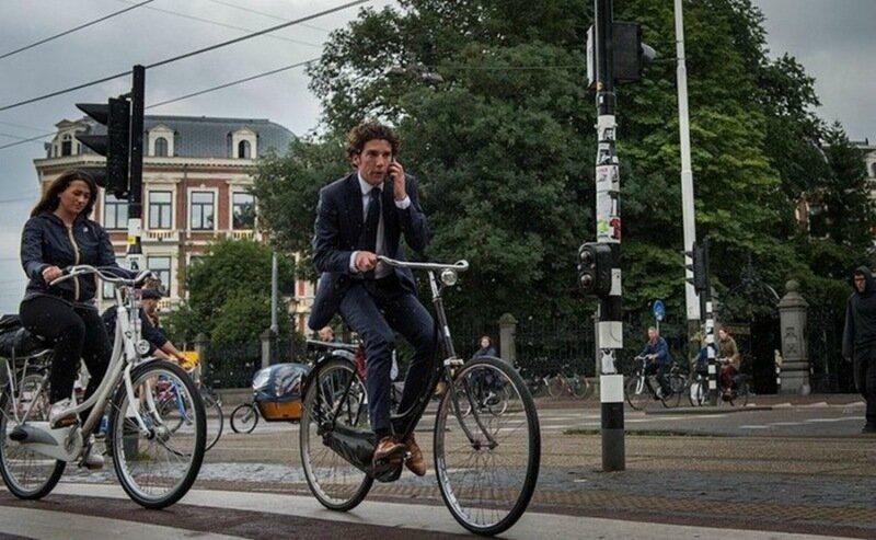 Фотографии: Амстердам— настоящая Мекка велосипедистов