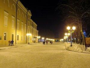 Зимний вечер в Новгородском Кремле