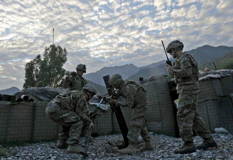 Американские военные в Афганистане 1