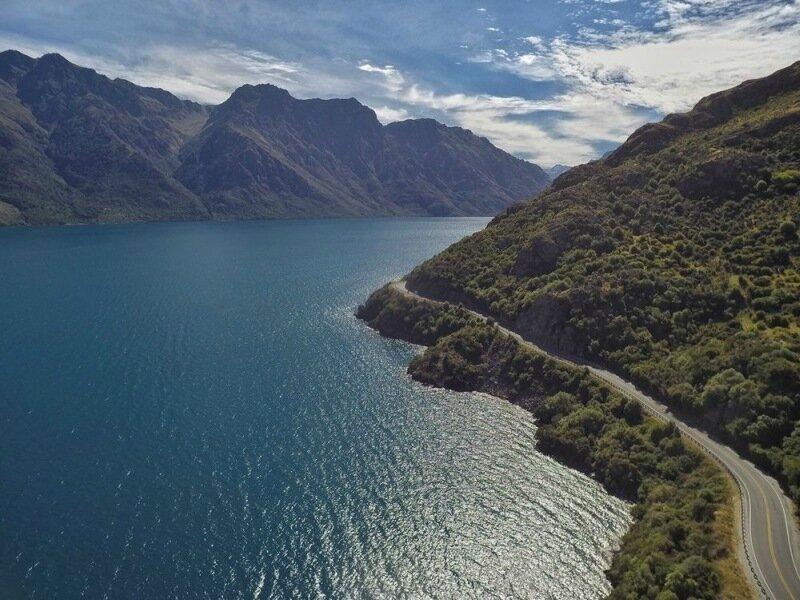 Красивые фотографии Новой Зеландии с высоты птичьего полёта 0 1c41cb d35cff8b XL