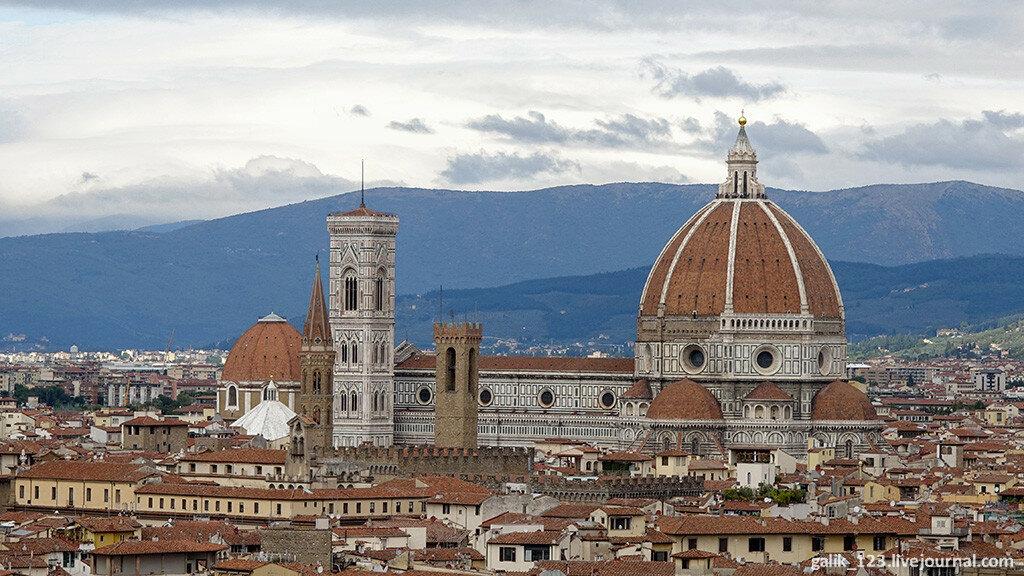 Кафедральный собор Флоренции в деталях