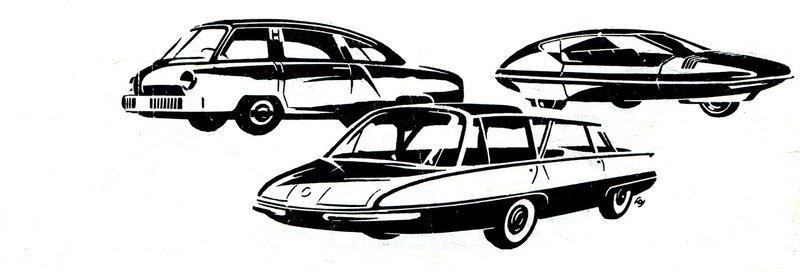 Возможно так будут выглядеть легковые автомобили ближайшего будущего