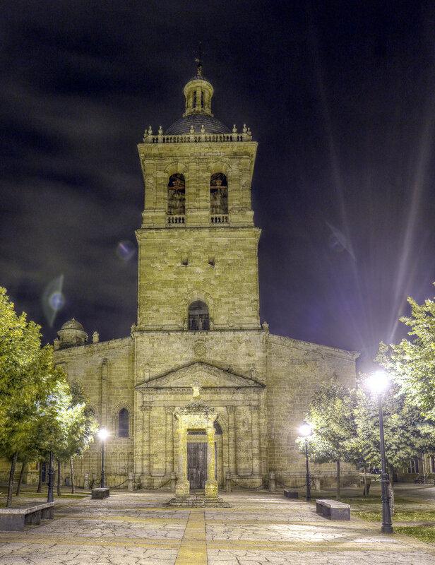 Сьюдад-Родриго ночью.