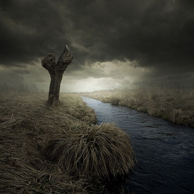 Путешествие в таинственные миры от Leszek Bujnowski (28 фото)