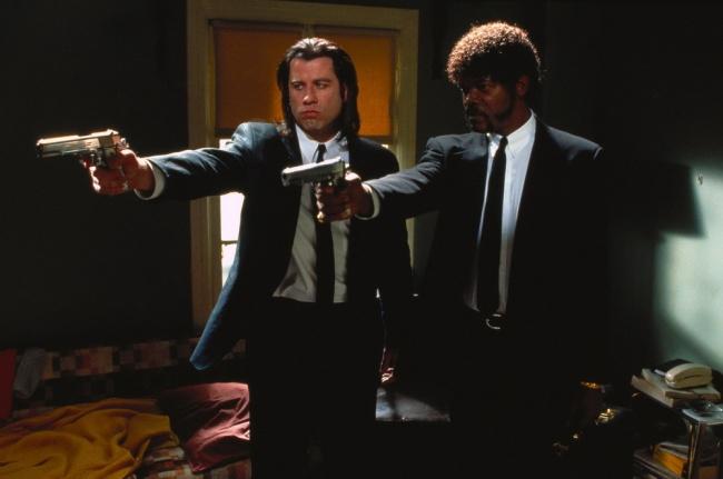 Кадр изфильма Тарантино— это уже нефамилия режиссера, это целая вселенная. Сыпать афоризмами изу