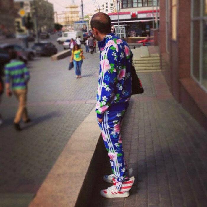 Спортивный костюм для настоящего мужчины.