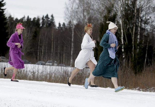 Sauna Marathon in Estonia
