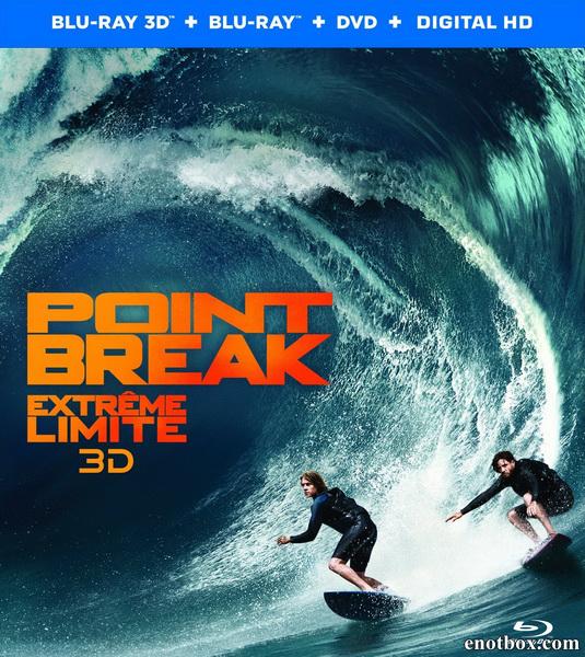 На гребне волны / Point Break (2015/BD-Remux/BDRip/HDRip/3D)