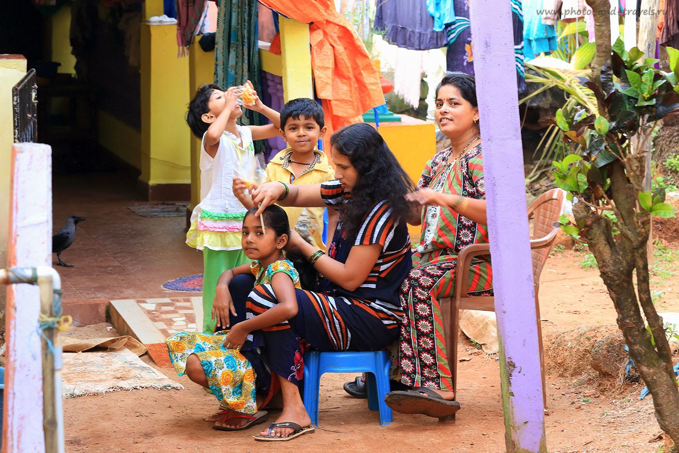 Фотография 11. Вечерний туалет в индийской деревне на Южном Гоа. Отзывы туристов об отдыхе в Индии (70-200, 1/25, 0eV, f9/, 121mm, ISO 640)