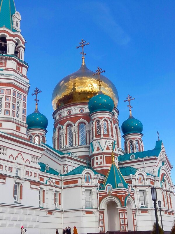 Омск, Свято-Успенский собор (Omsk Dormition Cathedral)