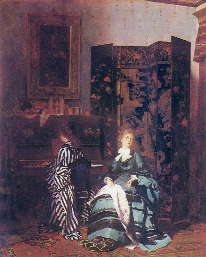 Альберт фон Келлер, Шопен, 1873
