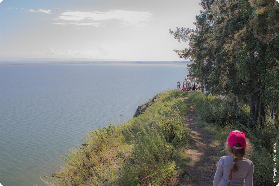 Обзорная точка в Монахово, Чивыркуйский залив, Байкал