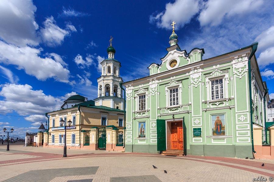 Казань, Кафедральный Никольский собор
