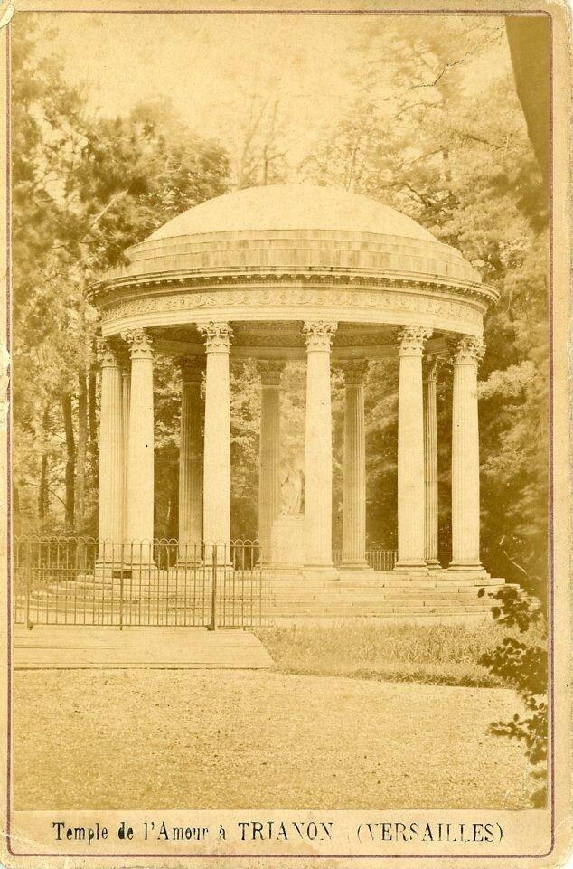 Парк Малого Трианона. Храм Амура